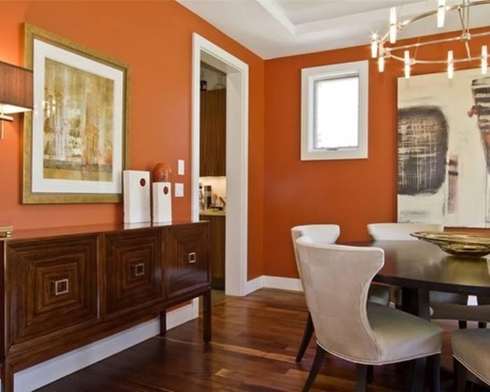 fengshui warna oranye
