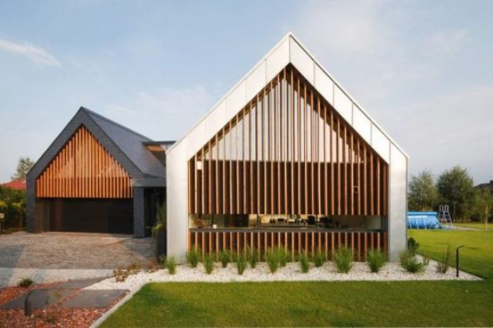 Desain Bentuk Atap pelana