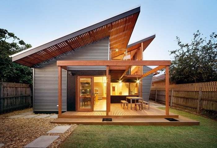 Desain Bentuk Atap jengki
