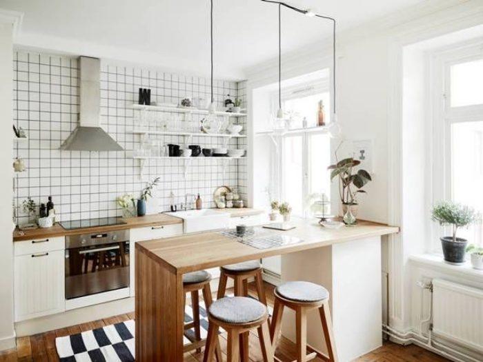 Desain Dapur Mungil dan Kecil Terbaru