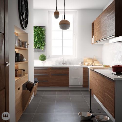 Inspirasi Desain Dapur Kecil