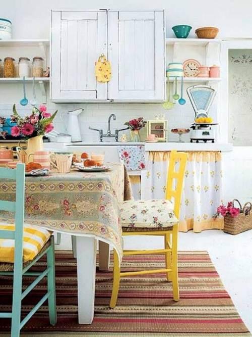 Desain dapur kecil dan mungil