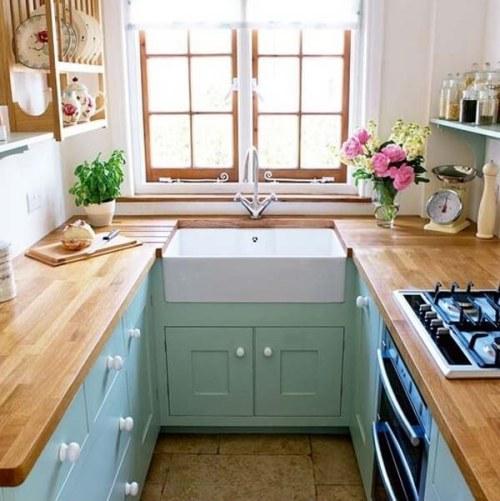 Trik desain dapur sempit