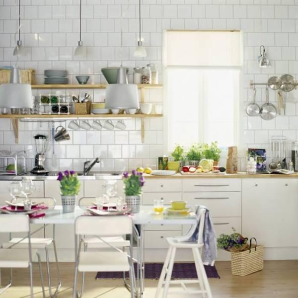 Desain Dapur Skandinavian