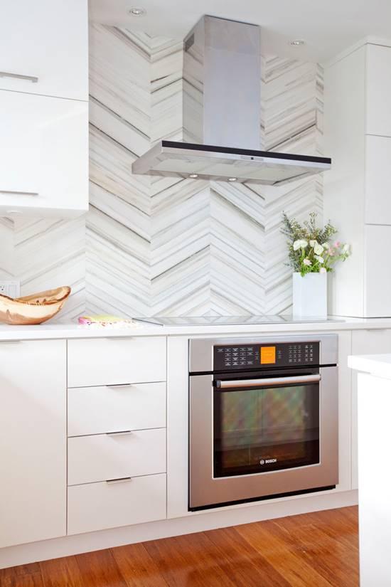 Desain Dinding Belakang Backsplash Dapur