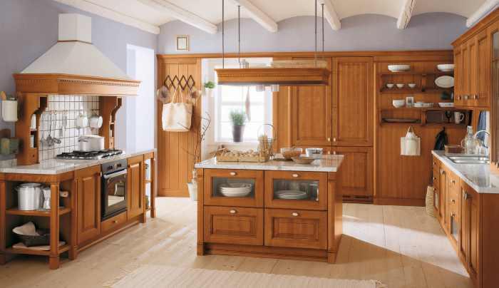 Kreasi Desain Dapur Kayu