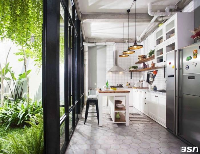 12 Kreasi Desain Dapur Terbuka Untuk Rumah Impian Interinoz