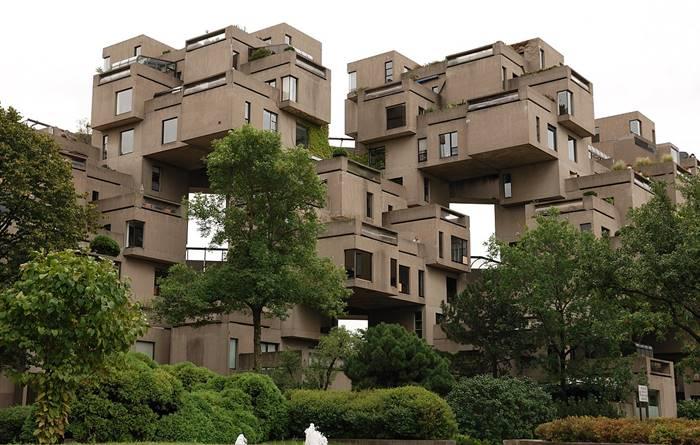 Habitat 67 karya Moshe Safdie