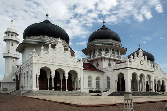 Arsitektur Masjid Raya Baiturrahman