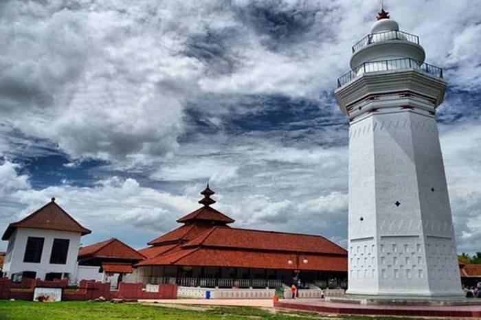 Arsitektur Bangunan Masjid Agung Banten