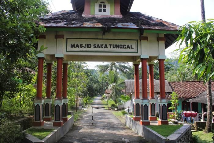 Arsitektur Masjid Saka Tunggal