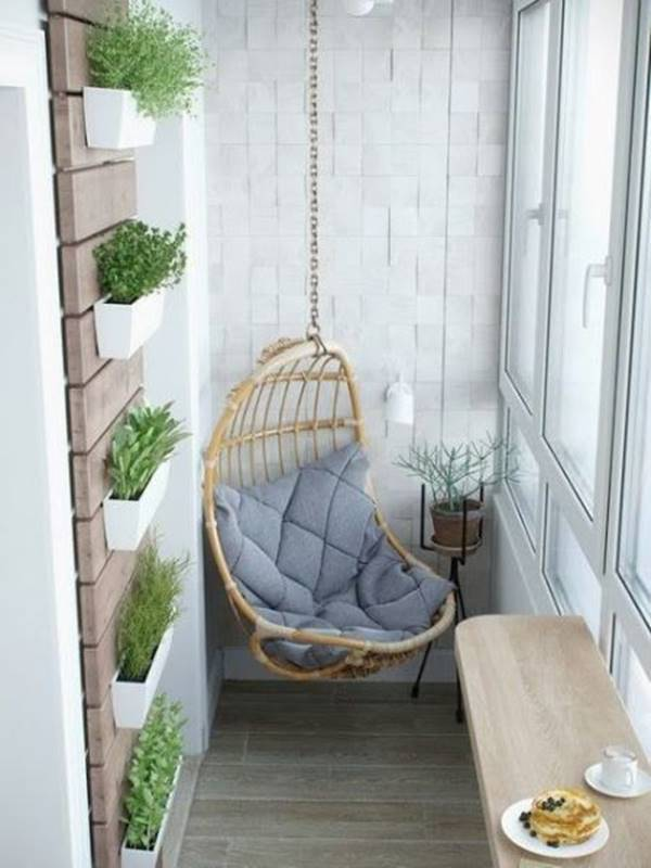 Image result for bangku ayun di atas balkon rumah