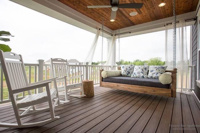 Desain Ruang Balkon Rumah
