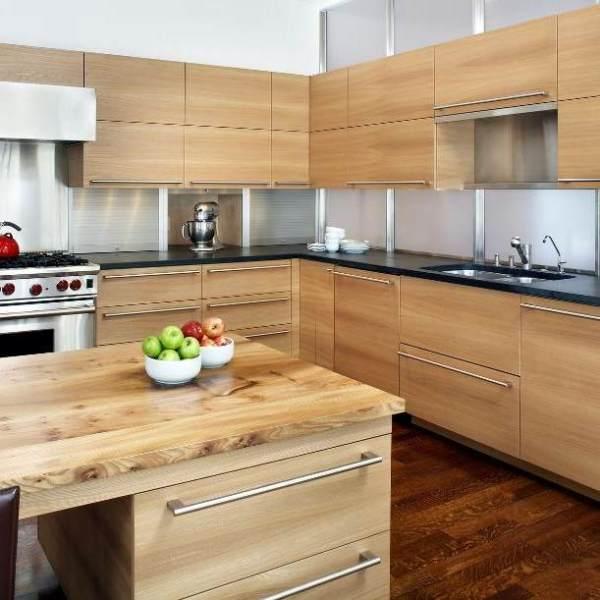 Inspirasi Desain Dapur Kayu