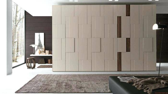 Desain Wardrobe / Lemari Baju Modern Minimalis