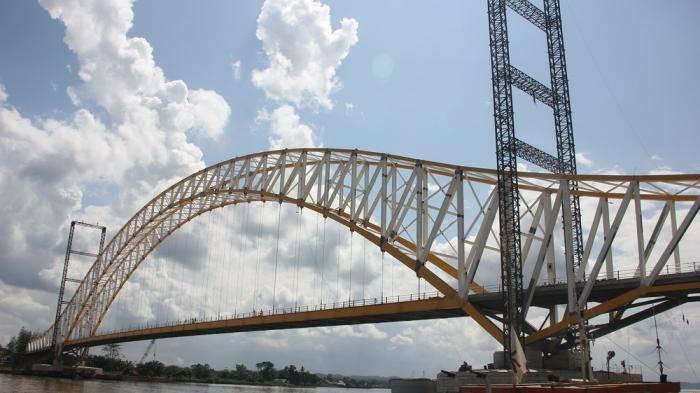 Arsitektur Jembatan Kutai Kartanegara