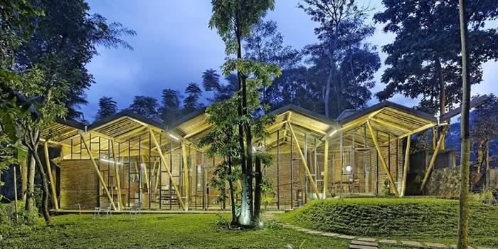Dancing Mountain House - Karya Arsitek Indonesia yang Menang Penghargaan Internasional