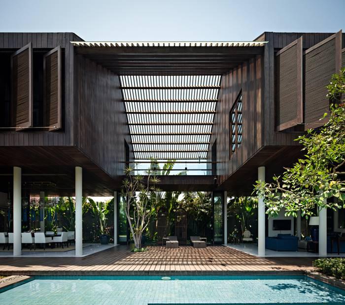 Dra House - Karya Arsitek Indonesia yang Menang Penghargaan Internasional