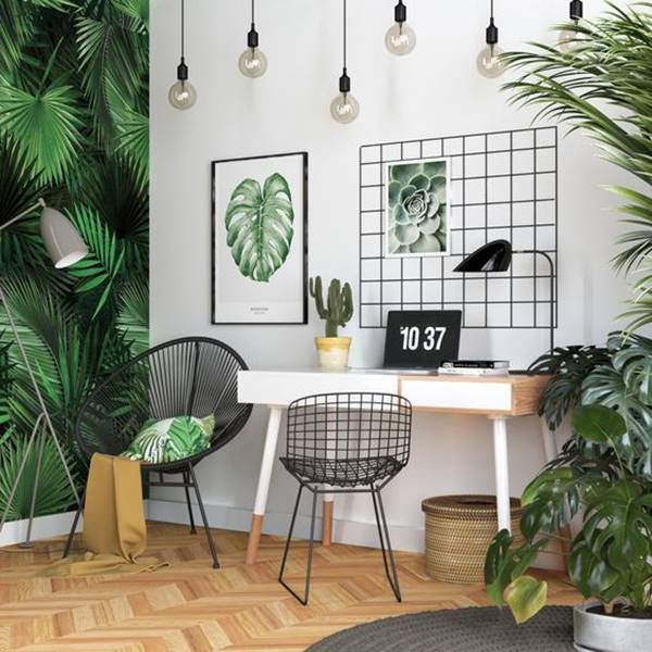 Desain Ruang Kerja Modern Minimalis