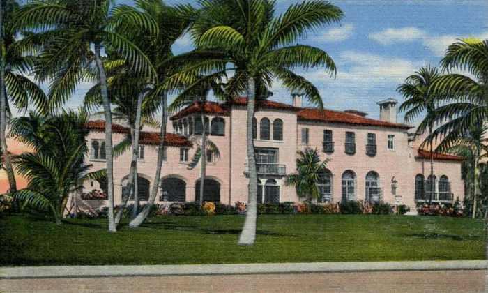 El Mirasol Mansion, Rumah dengan Arsitektur Mediterania