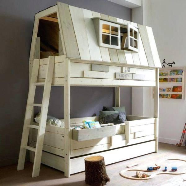 Desain tempat tidur tingkat - Bunk Bed