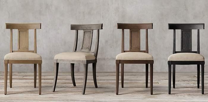 Kursi Antik Klismos Chair