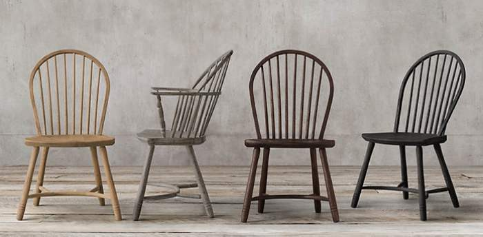 Kursi Antik Windsor Chair