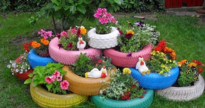 Ide Pot Tanaman DIY dari bahan bekas