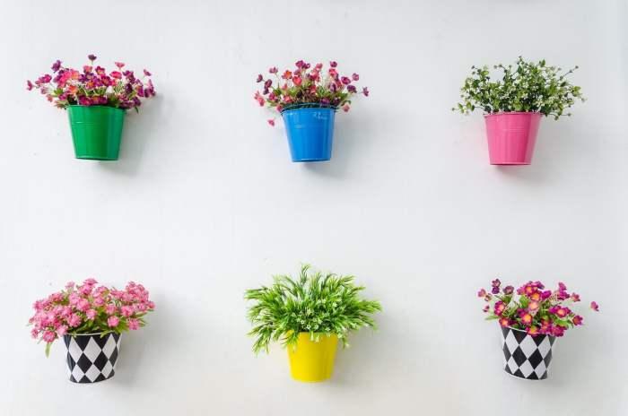 Desain pot tanaman DIY