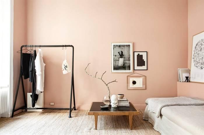 Interior Skandinavian Pink