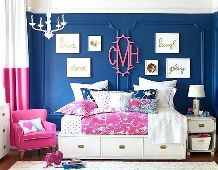 Interior warna Nav dan Pink