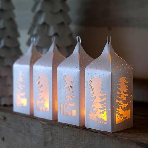 Dekorasi Lampu Natal DIY