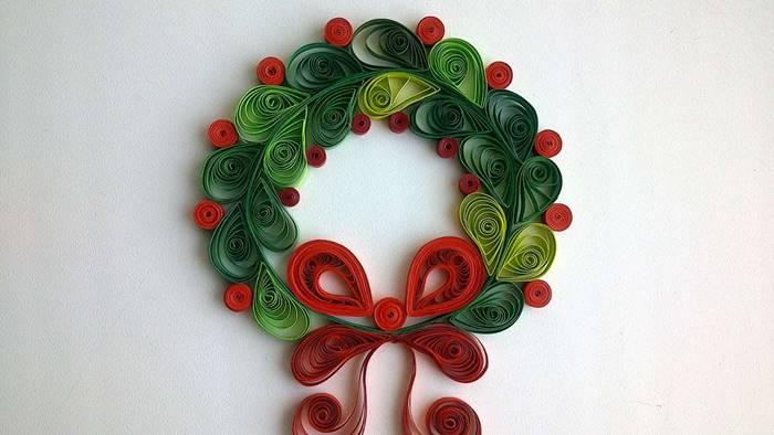 Dekorasi Natal DIY dari Origami