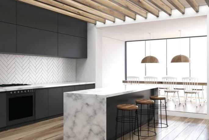 Desain island dapur terbaru