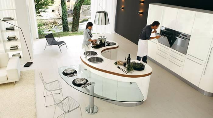 Desain Island Dapur terbaik
